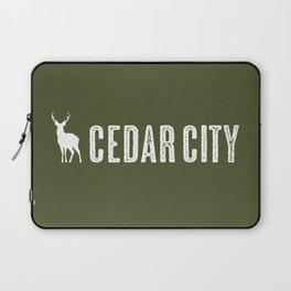 Deer: Cedar City, Utah Laptop Sleeve