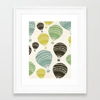 balloons Framed Art Prints featuring Balloons by spinL