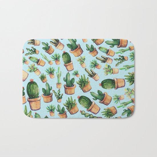 cactus wave Bath Mat