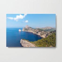 Mirador es Colomer - Mallorca, Spain Metal Print