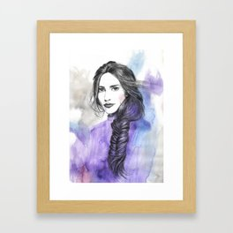 Lizzie II Framed Art Print