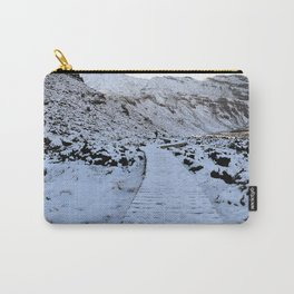 Snow in the Tongariro Carry-All Pouch
