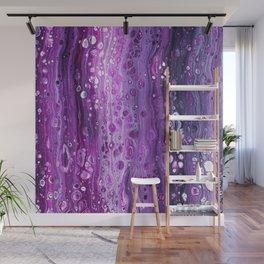 Under The Purple Sea Wall Mural