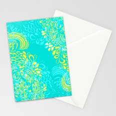 Thinking - 2 colour zest Stationery Cards
