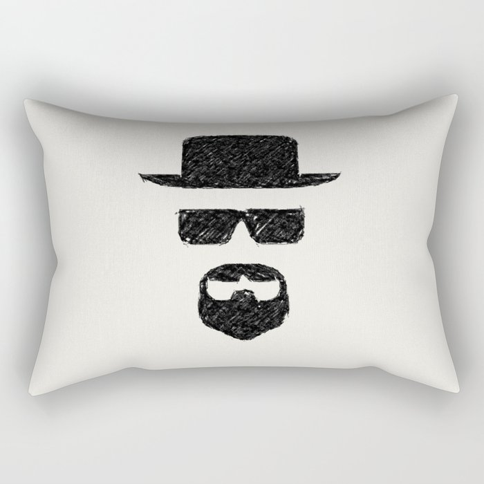 Heisenberg: Sketch Rectangular Pillow