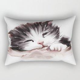 kitten sleeps Rectangular Pillow