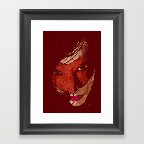 Sister Hazard Framed Art Print