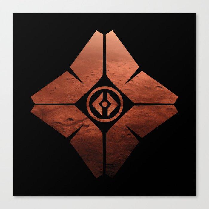 DestinyGhost-Mars Leinwanddruck