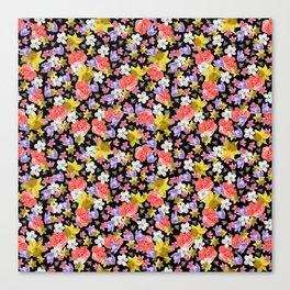Floral Haze Canvas Print