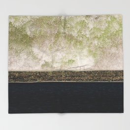 nature lines Throw Blanket