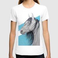 mustang T-shirts featuring Mustang by Putrizia Pine