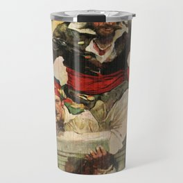 Blackbeard the Buccanneer Travel Mug