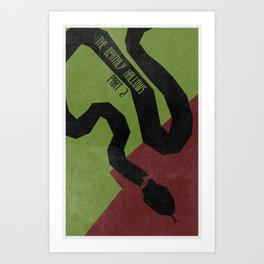 The Deathly Hallows Pt.2 (The Boy Who Lived 8 of 8) Art Print