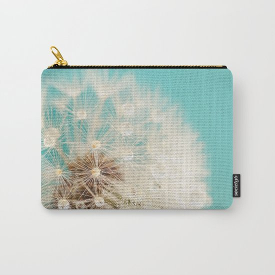 dandelion with waterdrops Carry-All Pouch