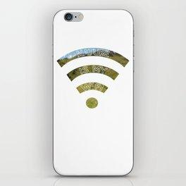 Nature Is My WiFi iPhone Skin