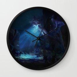 The Heart of  Atlantis Wall Clock