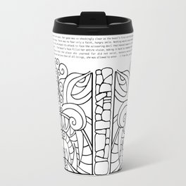 Threshold Guardian Travel Mug