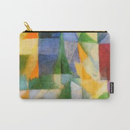 """Robert Delaunay """"The Window"""" Carry-All Pouch"""
