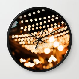 Evenings in the Alley Wall Clock