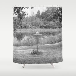 Wessel Pines Disc Golf Course Shower Curtain