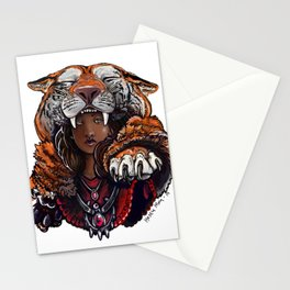 Tiger Lady Stationery Cards