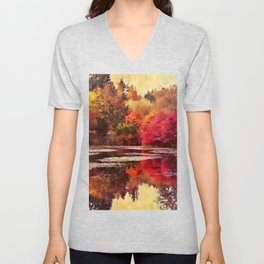 A Feeling of Warmth Unisex V-Neck