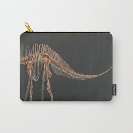 Amargasaurus Skeletal Study (No Labels) Carry-All Pouch