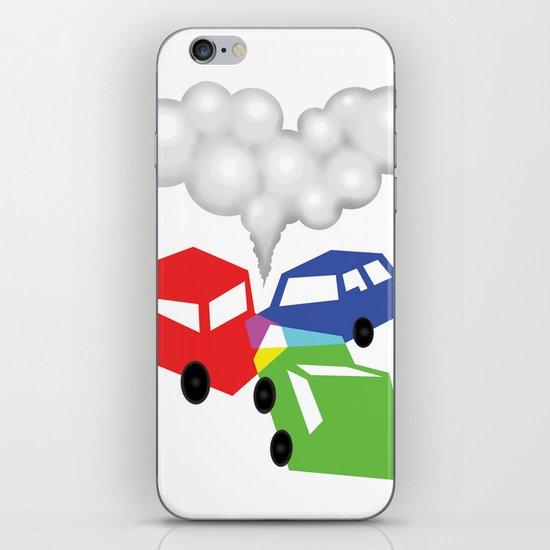 RGBed iPhone & iPod Skin