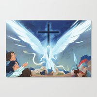 Like Lightning (by Melanie Matthews) Canvas Print