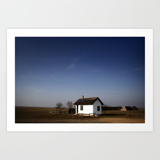 Home. Art Print