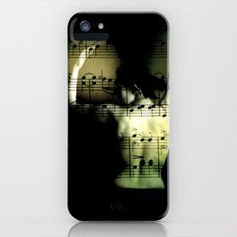 eroticism of music iPhone Case