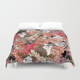 Because English Bulldog Duvet Cover
