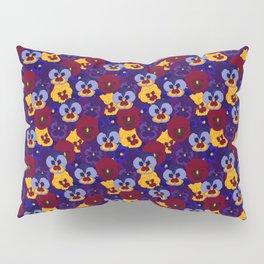 Pansy Pillow Sham
