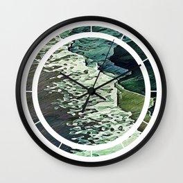 Calm Shores Wall Clock