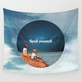 Spoil yourself Wall Tapestry