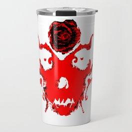 Rorschach Red Travel Mug