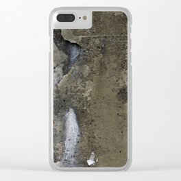crumbling underpass. Clear iPhone Case