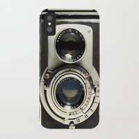 film iPhone & iPod Cases featuring Vintage Camera by Ewan Arnolda