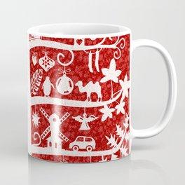 CHRISTMAS TREE  ITINERANT (white) Coffee Mug