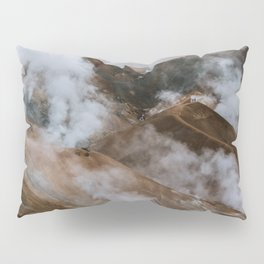 Kerlingjarfjöll smoky Mountains in Iceland - Landscape Photography Pillow Sham