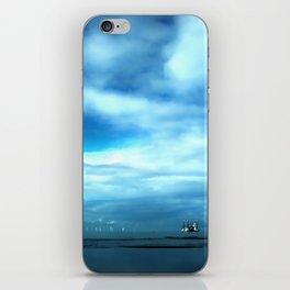 Off to Sea iPhone Skin