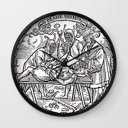 Depositing the Horns - Initiation Ritual Wall Clock