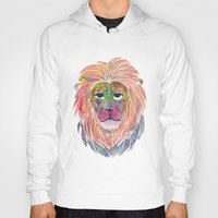 courage Hoodies featuring Courage by Jhoanna Monte Aranez