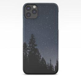 Star Night in the Woods | Nature and Landscape Photography iPhone Case