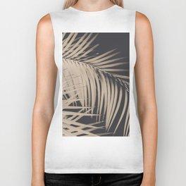 Palm Leaves Sepia Vibes #3 #tropical #decor #art #society6 Biker Tank