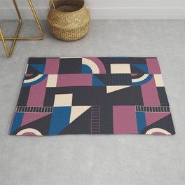 Darkish Blocks #society6 #pattern Rug