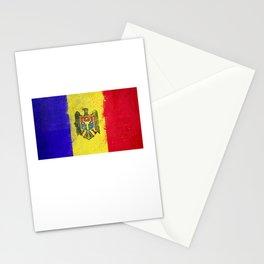 Moldova Flag design | Moldovan design Stationery Cards