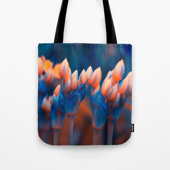 Floral abstract(4). Tote Bag