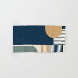 Cool Color Pallette Pattern Hand & Bath Towel