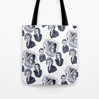 ripley Tote Bags featuring Ripley by scoobtoobins